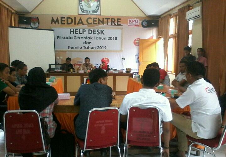 Diwarnai Aksi Protes, Pengundian Jadwal Kampanye di KPU Ditunda