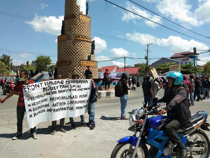 Pemuda dan Mahasiswa Minta Petani Tidak Dikriminalisasi